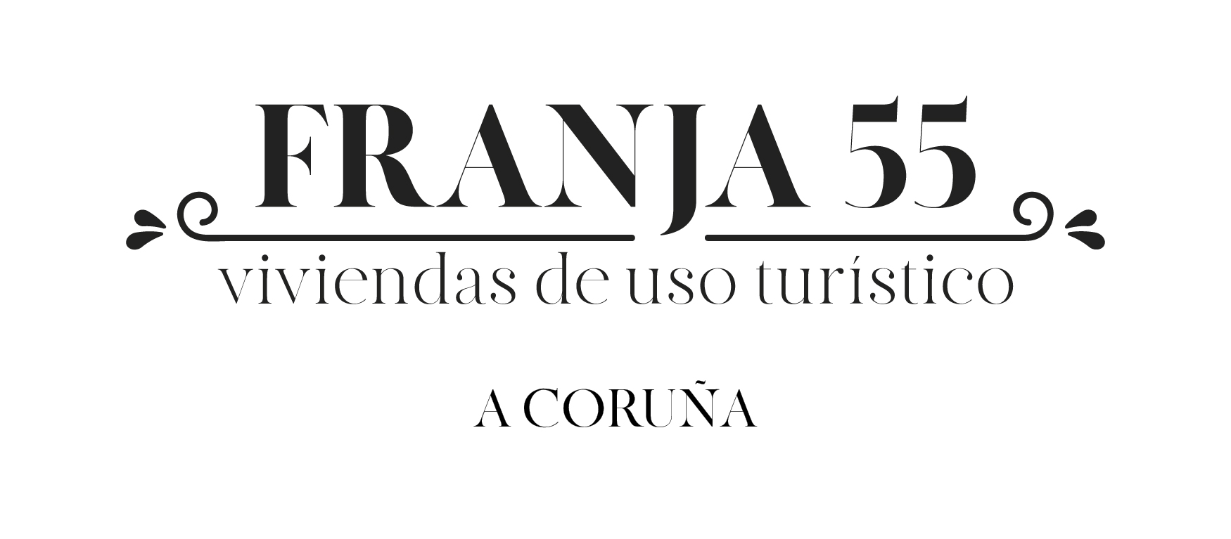 Franja 55 Apartamentos A Coruña Logo